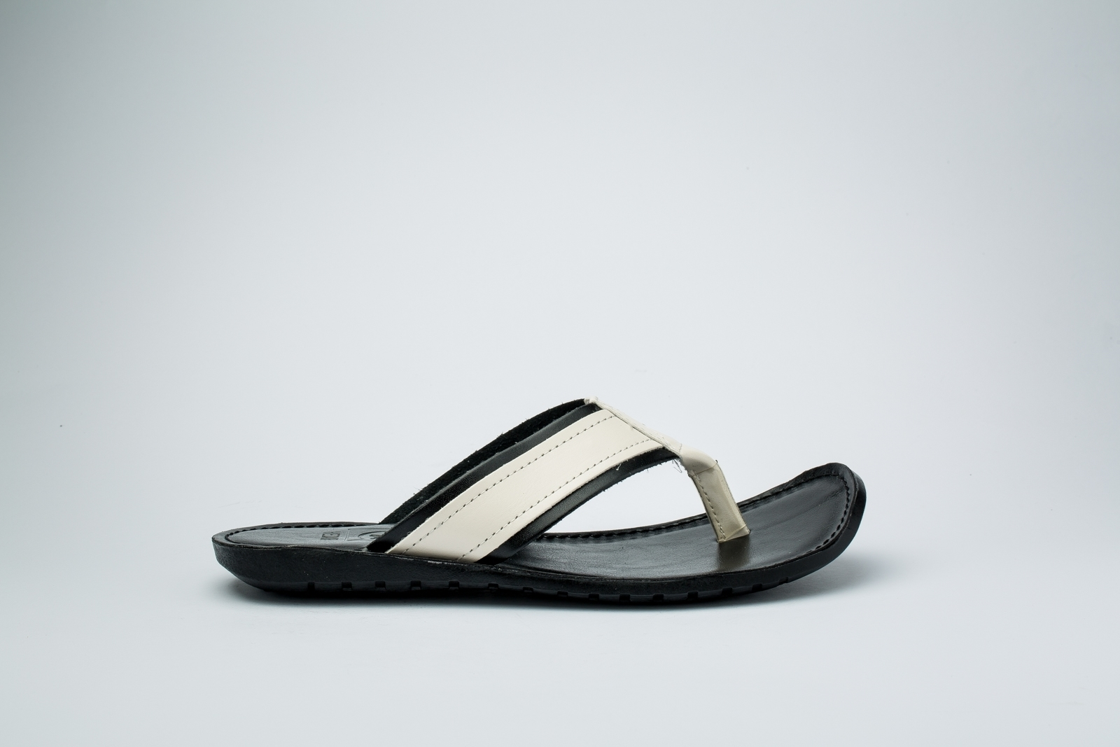 Picture of White and black Slipper
