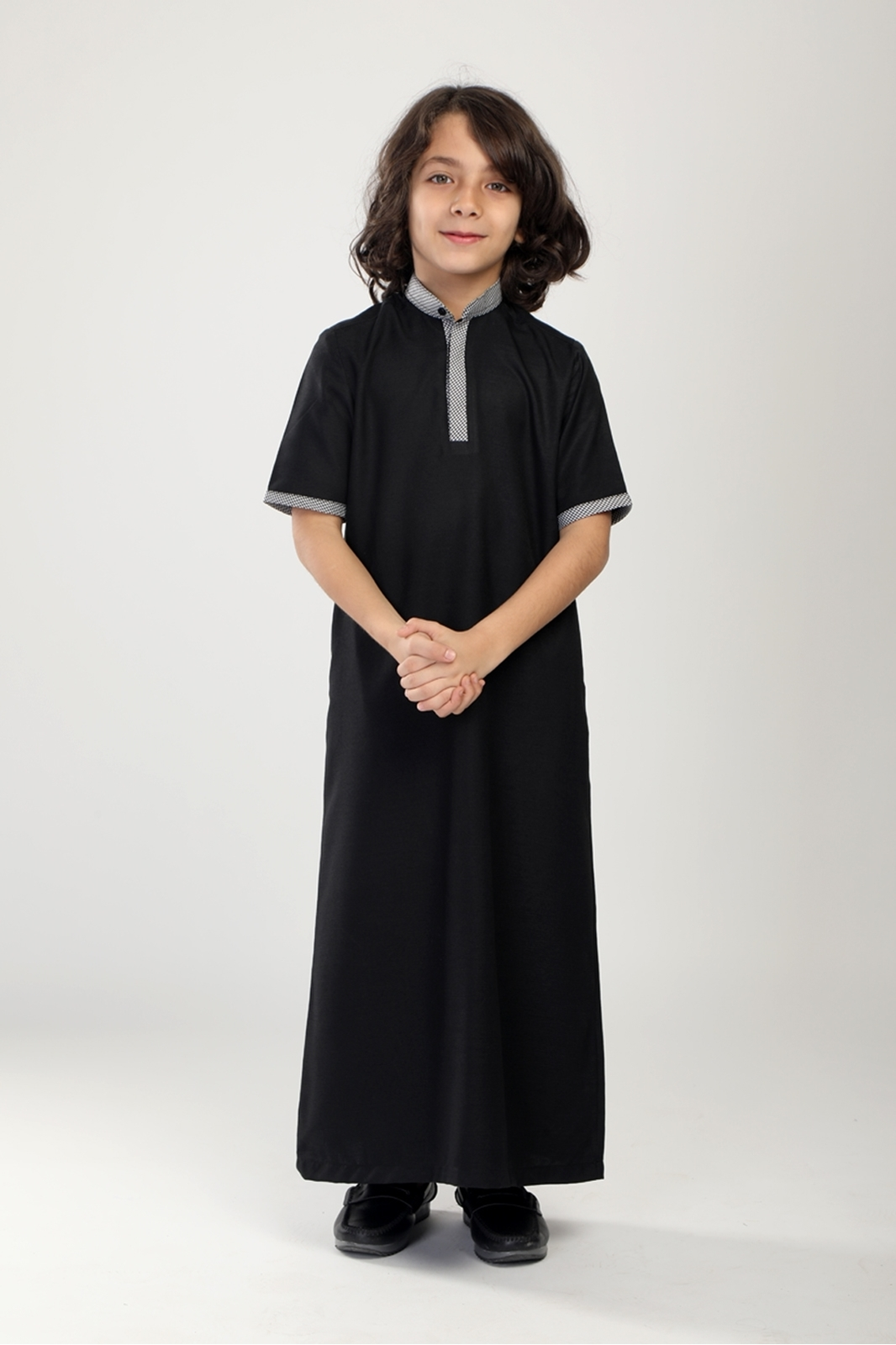Picture of Long Suit - Short Sleeve (BLK)