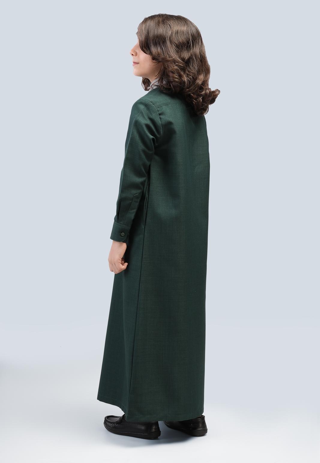 صورة بدلة طويلة الأكمام الطويلة