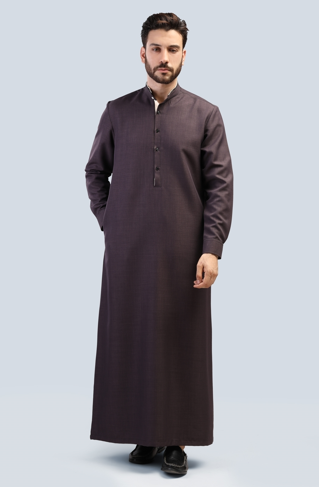 Picture of Long Suit - Long Sleeve with contrast collar  (P)